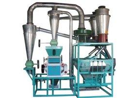 中科专利绿色环保型小型荞麦剥壳磨面机