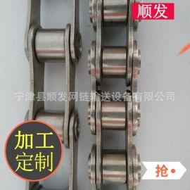山东厂家供应 不锈钢链条 滚子异形链条 短节距滚子输送链 可定做