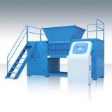 供應托盤  藍桶  金屬桶等回收用 新貝XB-F1600型四軸撕碎機