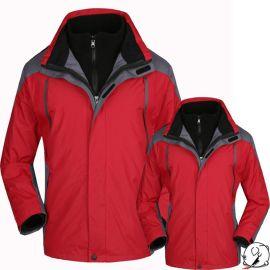 男式户外冲锋衣厂家多功能防水 秋冬两件套可脱卸