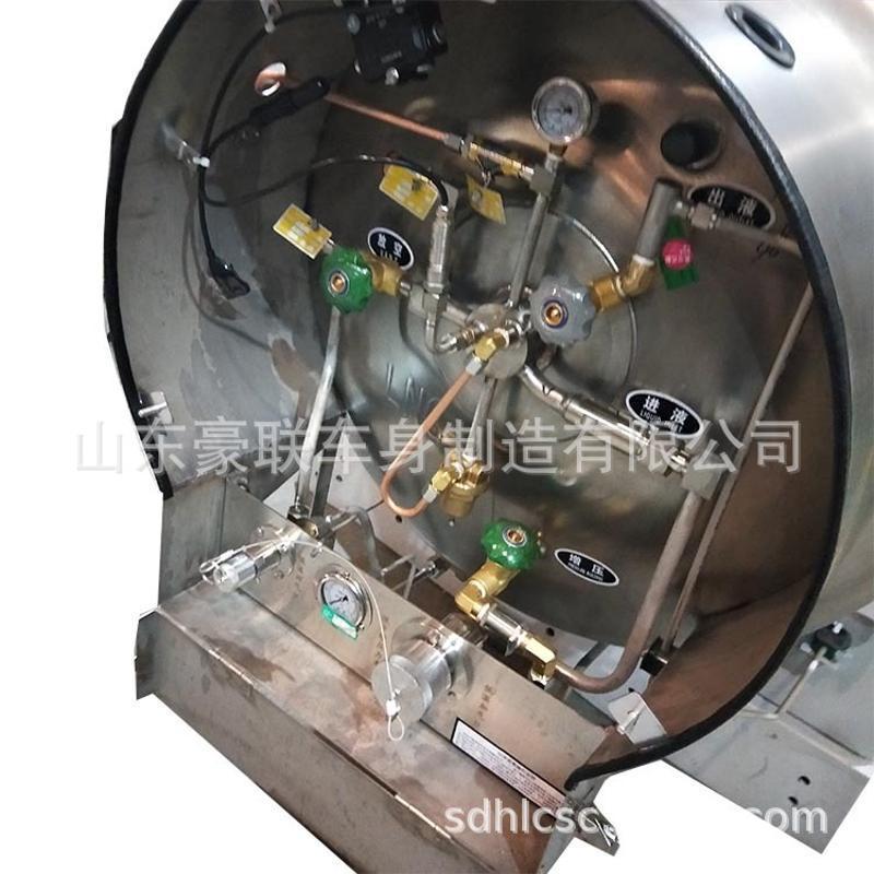 一汽解放虎V LNG天然气瓶 卧式单体 LNG液化天然气 图片 价格厂家