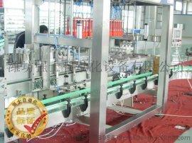 山东烟台自动装箱机厂家直销润滑油装箱机强士自动化厂家