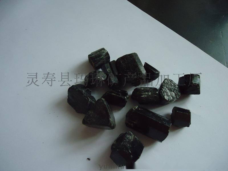 供应优质单晶体电气石,1-3MM电气石