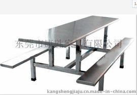 广州食堂用餐桌椅-食堂用不锈钢餐桌+员工饭堂不锈钢餐桌