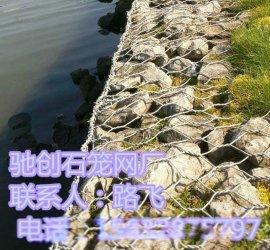 江河护岸格宾网垫,生态绿环PVC石笼网