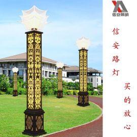 中山信安照明专业生产定制非标户外大型LED景观灯厂家