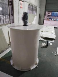 江苏厂家供应小型PP搅拌桶  聚丙烯焊接桶  塑料加药桶 耐酸碱  环保