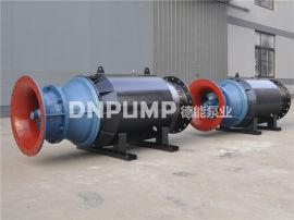 水泥池子安装卧式潜水轴流泵