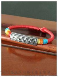 珠寶首飾手鏈,皮繩手鏈