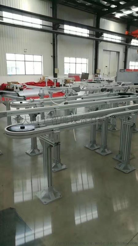 灌装柔性输送线,食品柔性输送线,板链输送线