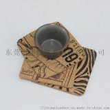 軟木製品廠 印花軟木杯墊 優質環保軟木杯墊