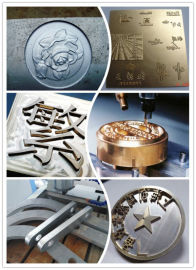 金属雕刻机 刻章机 金属加工机