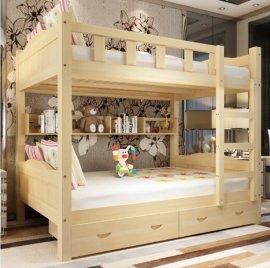 成都实木公寓床午休床厂家