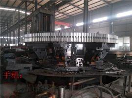 销轴型全齿高49.5无变位系数zg42crmo材质重型煤泥烘干机大齿轮
