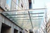 广州夹胶玻璃雨棚设计安装+钢结构玻璃遮雨棚