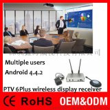 USB无线投屏器1收4发,多用户多屏互动办公会议系统