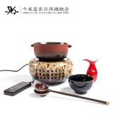 煮茶器 电烧水炉 陶瓷茶具 千禹陶瓷电热煮水器 茶具套装 电磁炉