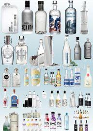 鸡尾酒瓶 红   瓶 白   瓶系列多款式新
