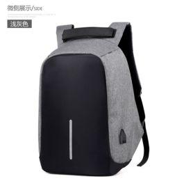 工厂定制商务双肩背包 电脑包 箱包礼品定制 来图打样