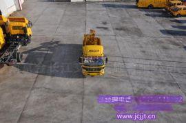 安徽直供NJJ5120TQX5护栏抢修车 车载式打拔钻机  金长江制造