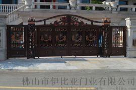 伊比亚A119铝艺庭院门