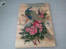 魔幻瓷砖,平板打印机和竹木芊维UV平板打印机