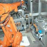 點膠機器人,根據產品定制點膠閥,可設置多種產品程式