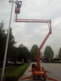 监控路灯高空设备维修升降机曲臂登高车启运上海长宁区
