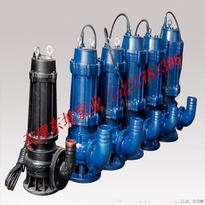 切割式污水泵 切割潜水排污泵 轴流潜水泵