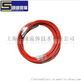超高压钢丝缠绕软管 清洗机树脂软管超高压水清洗软管