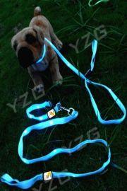LED发光宠物牵引带