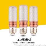 廠家直銷光頭強燈泡led蠟燭燈 白光黃光玉米球泡燈