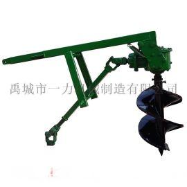 植树挖坑机,厂家直销拖拉机后悬挂挖坑机