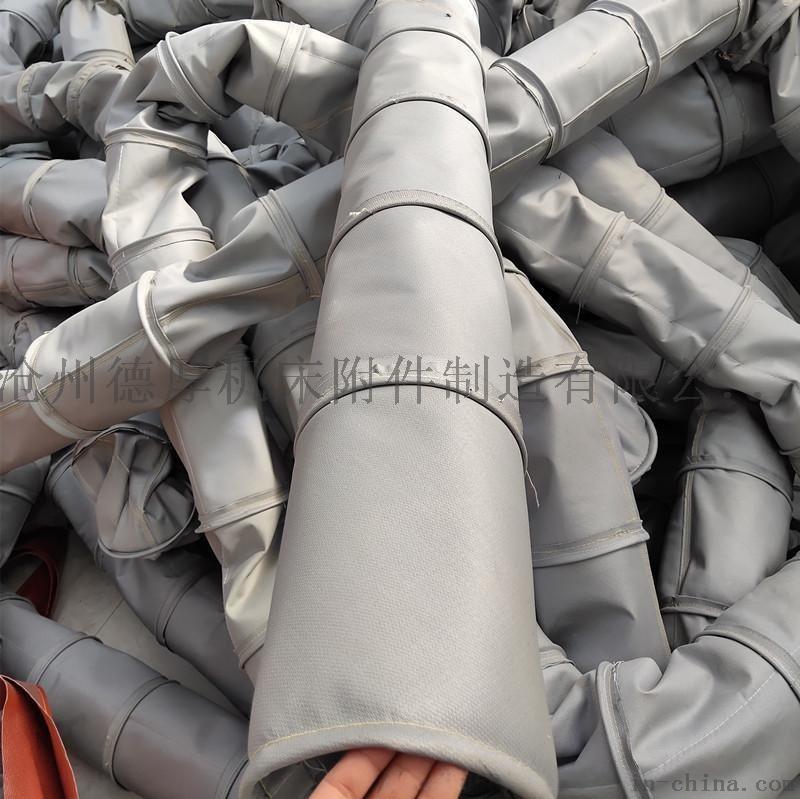 玻纖鋁箔布保溫伸縮通風軟管