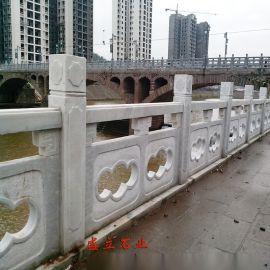 石栏杆图片_石材栏杆价格_石雕栏杆_河堤石材护栏