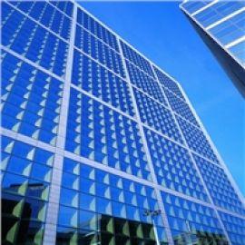宏海百纳幕墙设计,专业幕墙玻璃经验丰富
