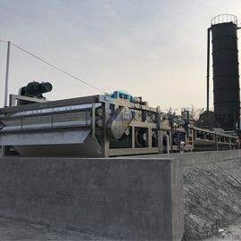 洗石粉泥浆脱水设备 带式淤泥脱水机定制加工