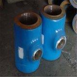 厂家直销按图订制焊接三通压制合金钢厚壁三通质量优良