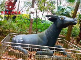 四川动物雕塑厂家,室内室外动物卡通人物雕塑定制