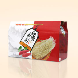 河南粉条纸箱生产 粉条礼品包装盒定做 守时诚信厂家