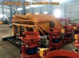 吊装喷浆机组/高效率干喷机组/混凝土干喷机组视频图片