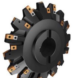 齿轮槽铣刀盘,高速加工各种模数齿轮槽的机夹盘铣刀