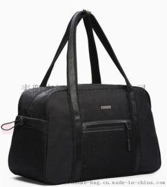 汉客运动健身包男短途旅行包女手提包轻便潮单肩大容量简约行李袋