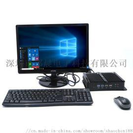 雙網雙顯6串口4200U工業電腦準系統