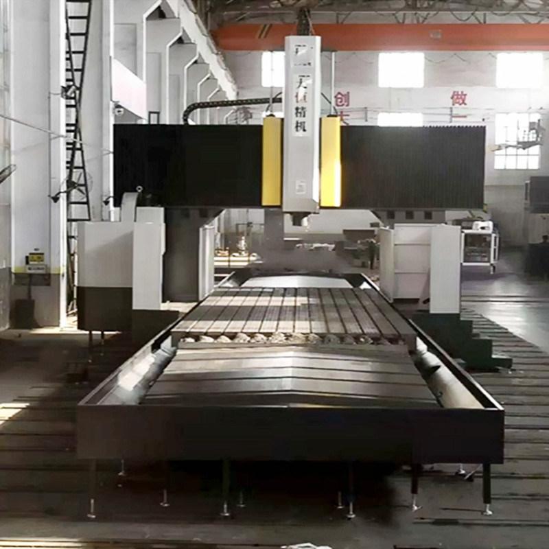 大恒机床数控龙门铣床8米厂家销售江苏客户