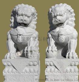 石狮子雕塑、麒麟雕塑雕刻、石材石雕工艺品