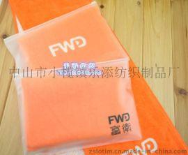 厂家直供订制广告创意礼品纯棉超细纤维PVC筒装EVA袋装毛巾
