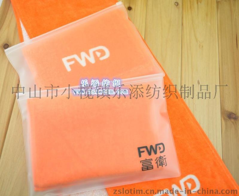 廠家直供訂製廣告創意禮品純棉超細纖維PVC筒裝EVA袋裝毛巾