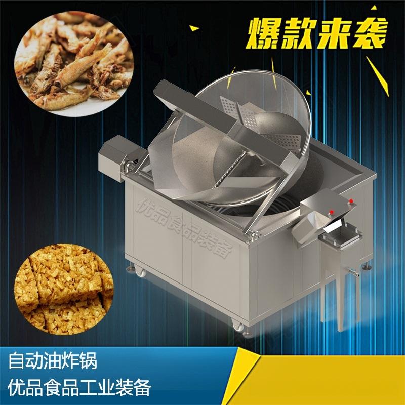 电热油炸锅 小型电油炸锅 自动控温油炸锅
