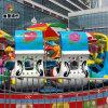童星游乐好玩的户外新型游乐设备激战鲨鱼岛 高端大气